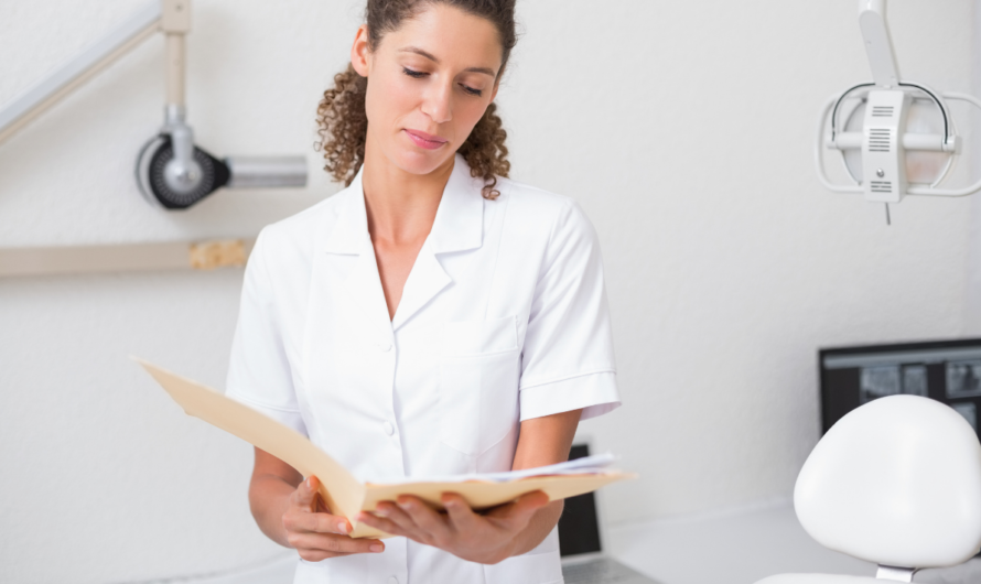 Electronic Dental Records and the Efficient Group Practice