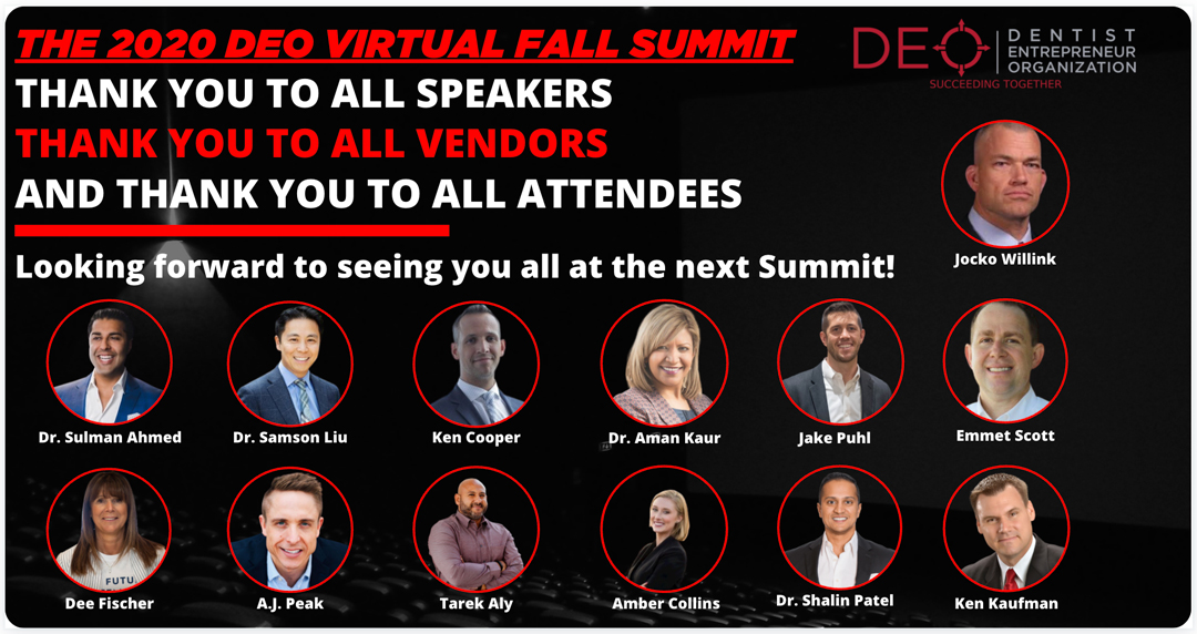 Top 5 Takeaways from The 2020 DEO Virtual Fall Summit